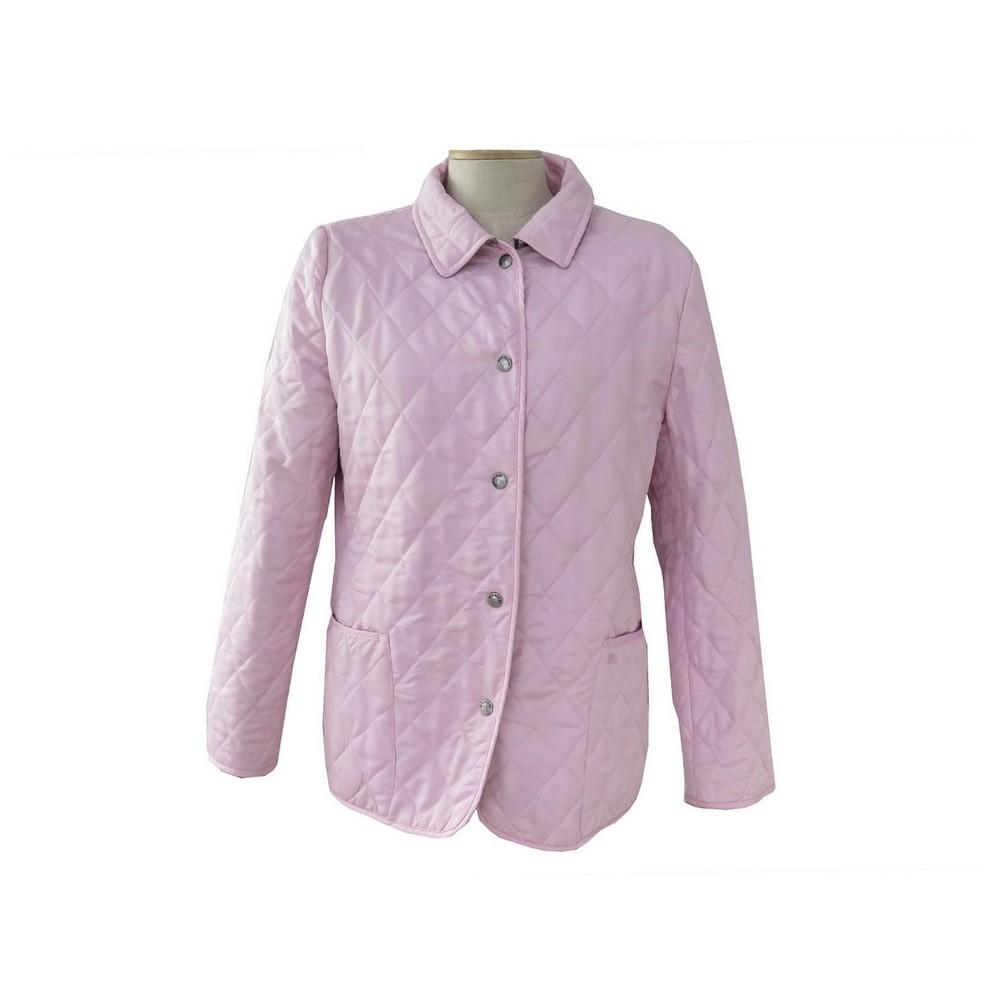 manteau burberry veste coton rose clair matelasse 38 m