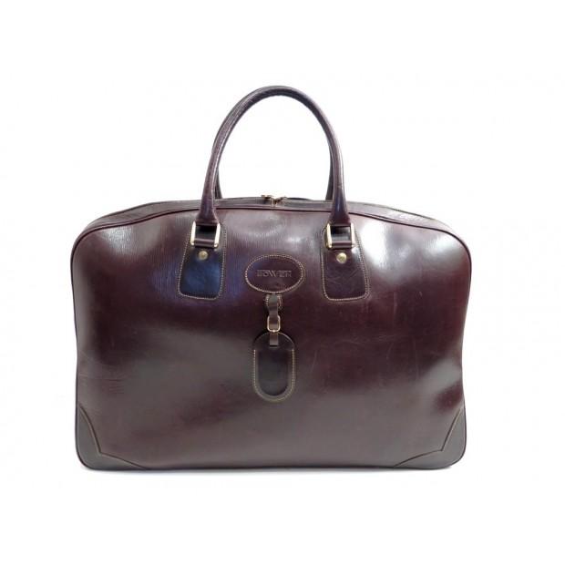 SAC DE VOYAGE A MAIN BOWEN WEEK-ENDER PADDINGTON 55 BAGAGE CUIR MARRON BAG 440€