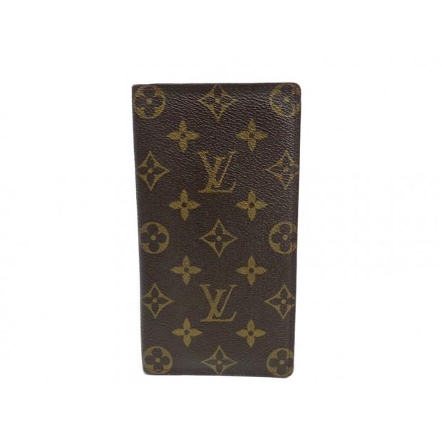 PORTE-CARTES LOUIS VUITTON MONOGRAM LV PORTEFEUILLE BILLFOLD CARD HOLDER 225€