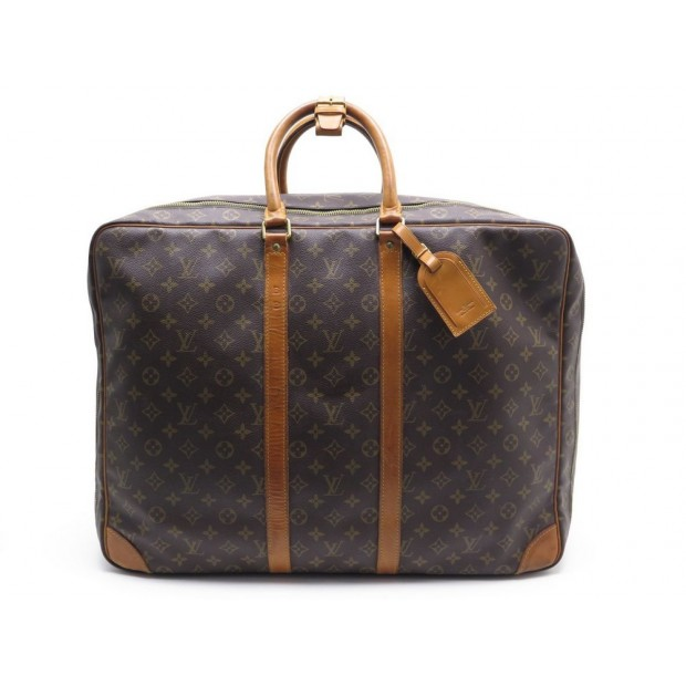 VINTAGE SAC VALISE A MAIN LOUIS VUITTON SIRIUS 55 TOILE MONOGRAM LUGGAGE 2120€