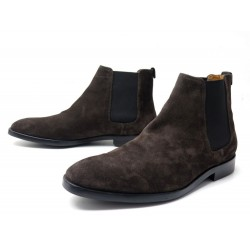 CHAUSSURES PS BY PAUL SMITH BOTTINES GERALD CHELSEA 7.5 41.5 SUEDE BOOTS 280€