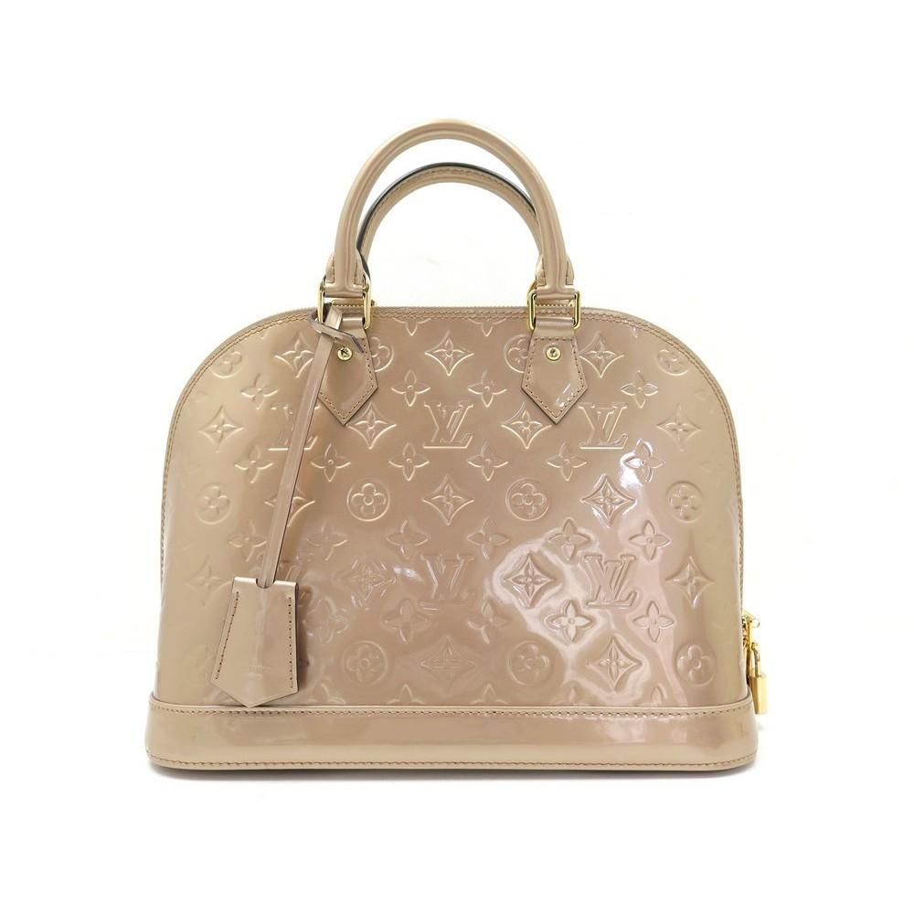 Sac A Main Louis Vuitton Alma Pm Monogram Cuir
