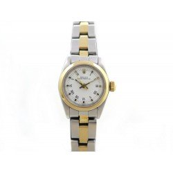 MONTRE ROLEX OYSTER PERPETUAL 6718 AUTOMATIQUE 25 MM EN OR ET ACIER WATCH 4700€