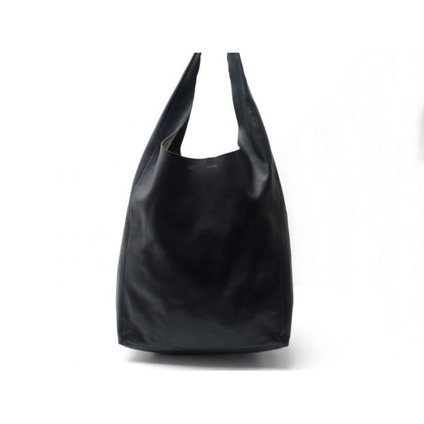 vente chaude en ligne eb57a ea5c6 sac a main celine cabas epaule pochette en cuir noir