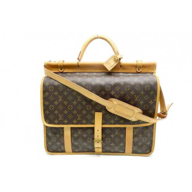 VINTAGE PORTE VETEMENTS LOUIS VUITTON KLEBER VALISE SAC VOYAGE LUGGAGE 3100€