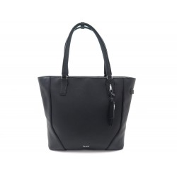 NEUF SAC A MAIN TUMI NONIE 117426-1041 CUIR GRAINE NOIR NEW LEATHER HANDBAG 545€