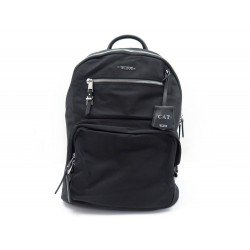 NEUF SAC A DOS TUMI HAGEN 109965 EN NYLON NOIR ATTRIBUTS ARGENTE BACKPACK 325€