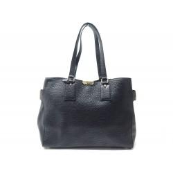 NEUF SAC A MAIN BURBERRY CLARBOROUGH 3991024 EN CUIR GRAINE NOIR HAND BAG 1390€
