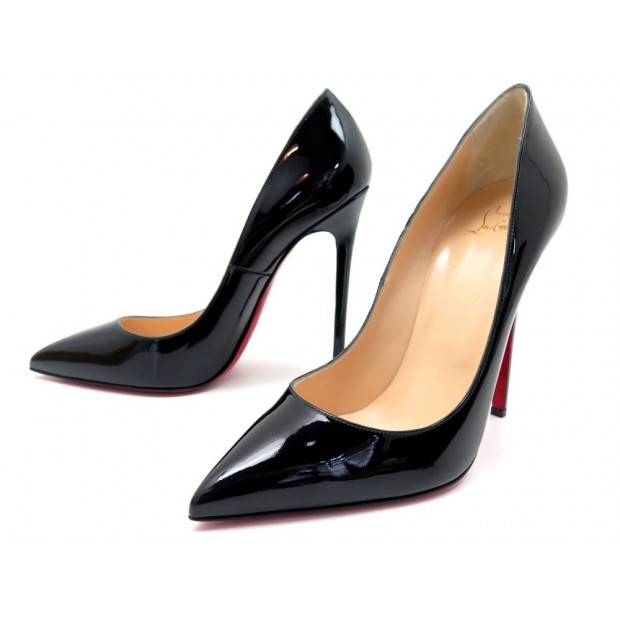 chaussures de sport afe04 a8289 chaussures christian louboutin pigalle 120 cuir