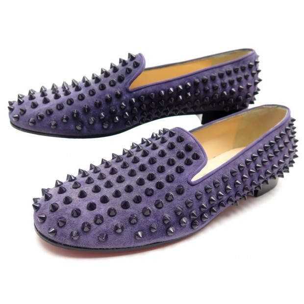 CHAUSSURES CHRISTIAN LOUBOUTIN ROLLERBOY SPIKES 39.5 1120153B002 MOCASSINS 995€