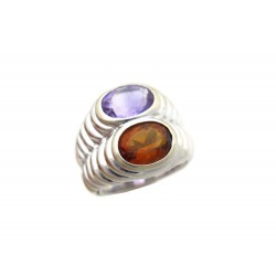 BAGUE BULGARI SERPENTI GODRON OR T48