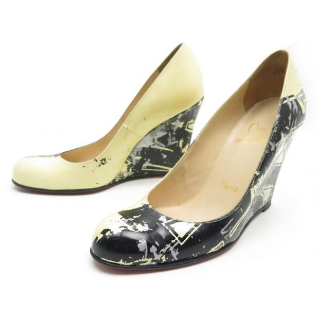 design intemporel 6097c 93684 chaussures christian louboutin escarpins talons