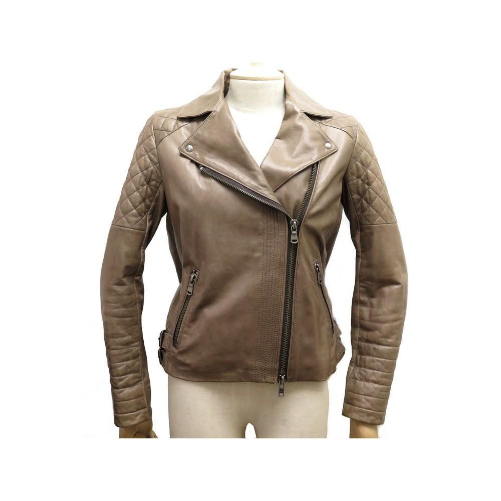blouson veste gerard darel femme 36 s perfecto en cuir
