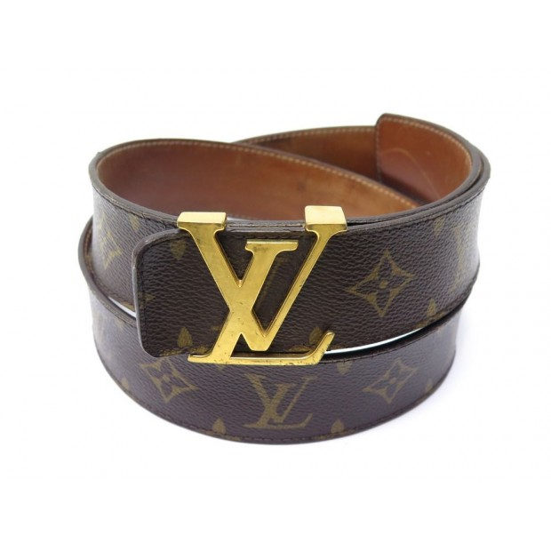 CEINTURE LOUIS VUITTON LV INITIALES EN TOILE MONOGRAM M9608 T95 CANVAS BELT 335€