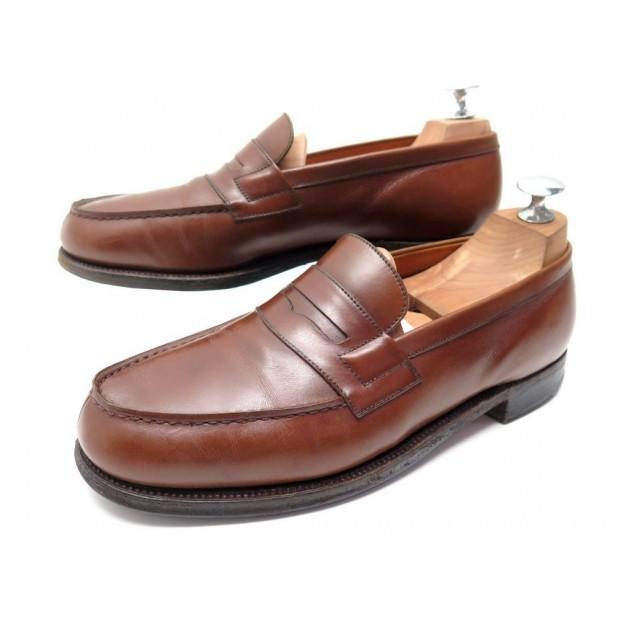 nouveau concept 13f27 381a2 chaussures jm weston 180 mocassins 6d 40.5 41 fin cuir