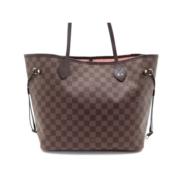 SAC A MAIN LOUIS VUITTON NEVERFULL MM N41603 TOILE DAMIER EBENE CABAS BAG 990€