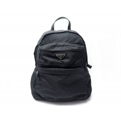 NEUF SAC A DOS PRADA 2VZ025 EN NYLON NOIR 2019 + POCHON NEW BACKPACK BAG 1200€