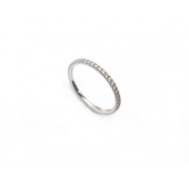 NEUF BAGUE BOUCHERON ALLIANCE OR 18CT ET DIAMANT