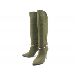 CHAUSSURES ISABEL MARANT BOTTES VERT T40