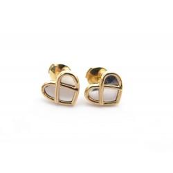 BOUCLES D'OREILLES POIRAY ATTRAPE COEUR 848303 EN OR ROSE GOLD EARRINGS 1680€