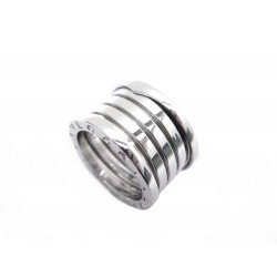 BAGUE BULGARI B ZERO 1 OR BLANC
