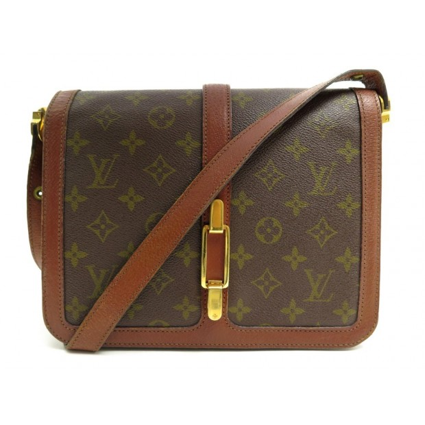 VINTAGE SAC A MAIN LOUIS VUITTON ROND POINT BANDOULIERE TOILE MONOGRAM BAG 2240€