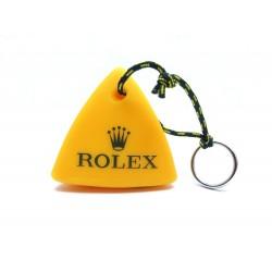 NEUF PORTE CLES ROLEX BOUEE JAUNE 2008 SWAN CUP 2011 REGATTA BUOY KEYS HOLDER