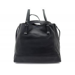 SAC A MAIN JEROME DREYFUSS GEORGES L CUIR NOIR BLACK LEATHER SHOULDER BAG 960€
