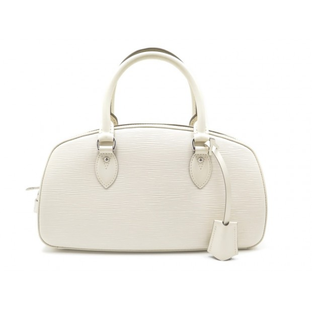 SAC A MAIN LOUIS VUITTON JASMIN CUIR EPI BLANC