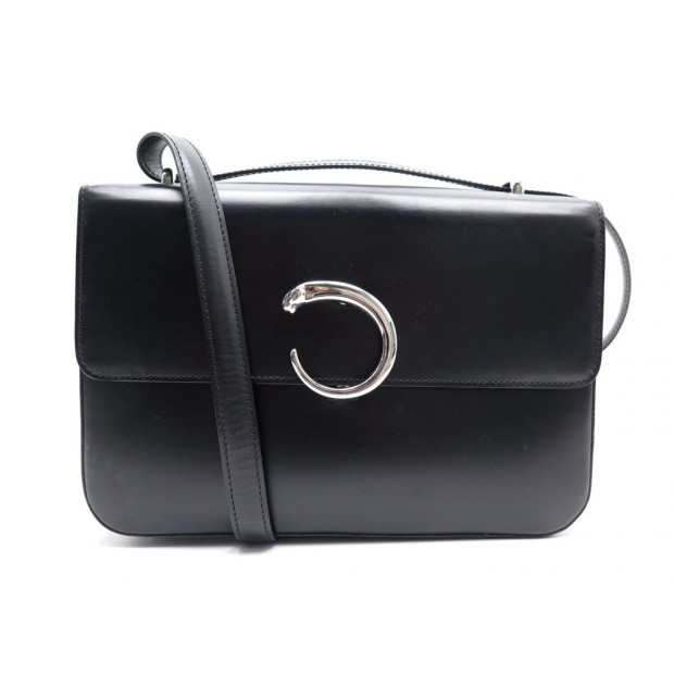 Sac Panthere Cuir A Cartier Main Bandouliere y8wN0Ovnm