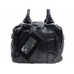 SAC A MAIN BALENCIAGA BLACK BOXY 168035 EN CUIR NOIR BLACK LEATHER HAND BAG 990€