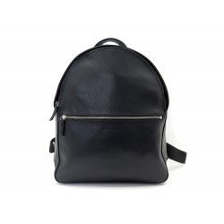 NEUF SAC A DOS LONGCHAMP LE FOULONNE EN CUIR GRAINE NOIR LEATHER BACKPACK 670€