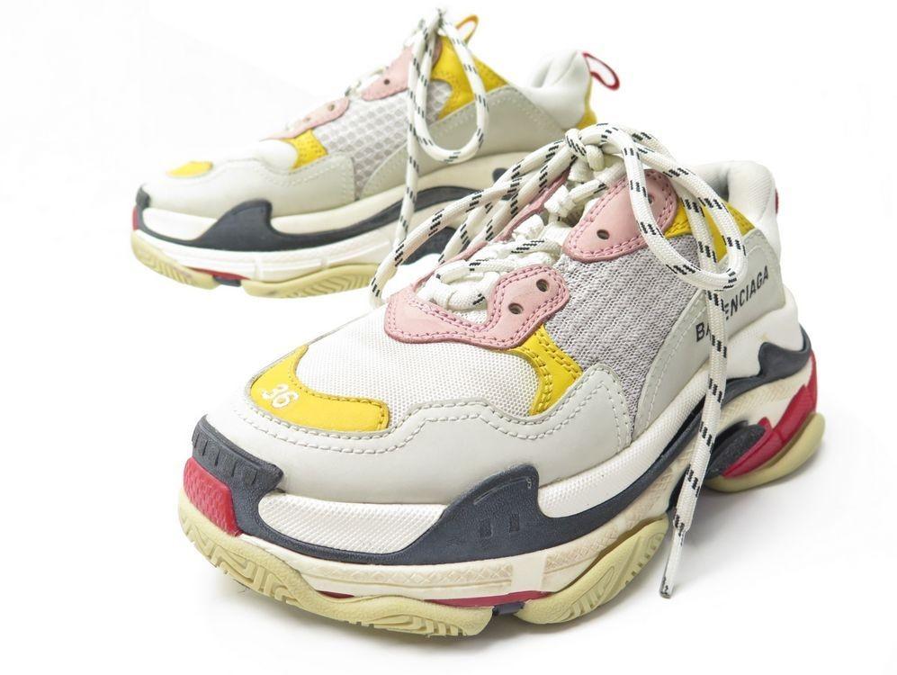 chaussures balenciaga baskets triple s
