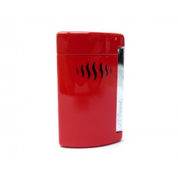 NEUF BRIQUET ST DUPONT MINIJET 010510 ROUGE FINITION CHROME RED LIGHTER NEW 115€