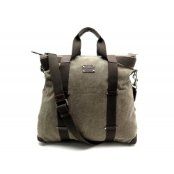 SAC DE VOYAGE DOLCE & GABBANA BANDOULIERE TOILE MARRON CANVAS TRAVEL BAG 1300€