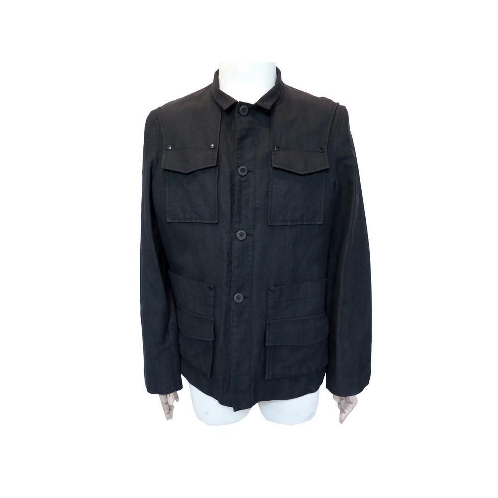 en veste l coton givenchy laine t54 noir TlJF1Kc
