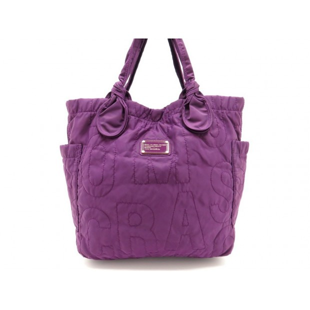 NEUF SAC A MAIN MARC BY MARC JACOBS MJ SIGNATURE EN NYLON CABAS TOTE BAG 190€