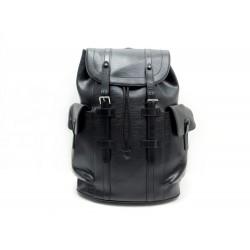 SAC A DOS LOUIS VUITTON CHRISTOPHER PM M50159 CUIR EPI NOIR BLACK BACKPACK 2660€