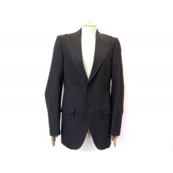 NEUF VESTE DOLCE & GABBANA 44 IT 42 FR L LAINE NOIR NEW BLACK WOOL JACKET 1450€