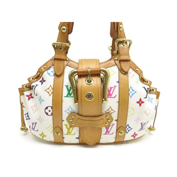 SAC A MAIN LOUIS VUITTON THEDA MM TOILE MONOGRAM MULTICOLOR HAND BAG PURSE 2200€