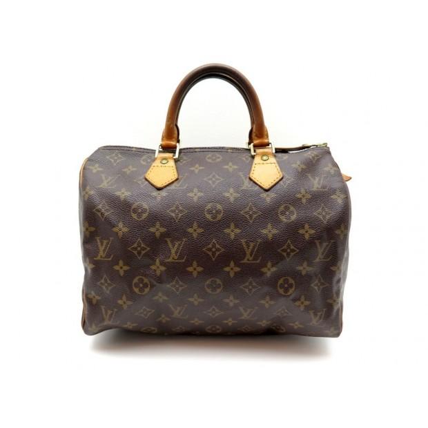 AAL0617 275Bis Louis Vuitton Speedy 30 Brown Monogram Canvas