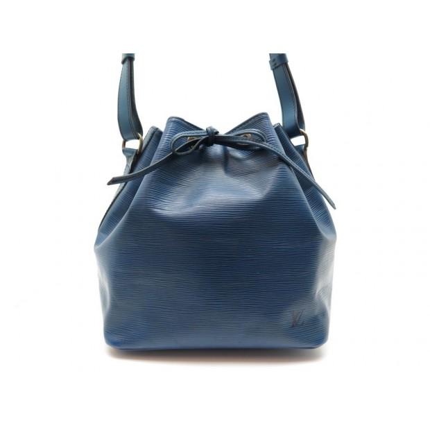 AAM1794 431B Louis Vuitton Noe Black Stitching PM Red Epi
