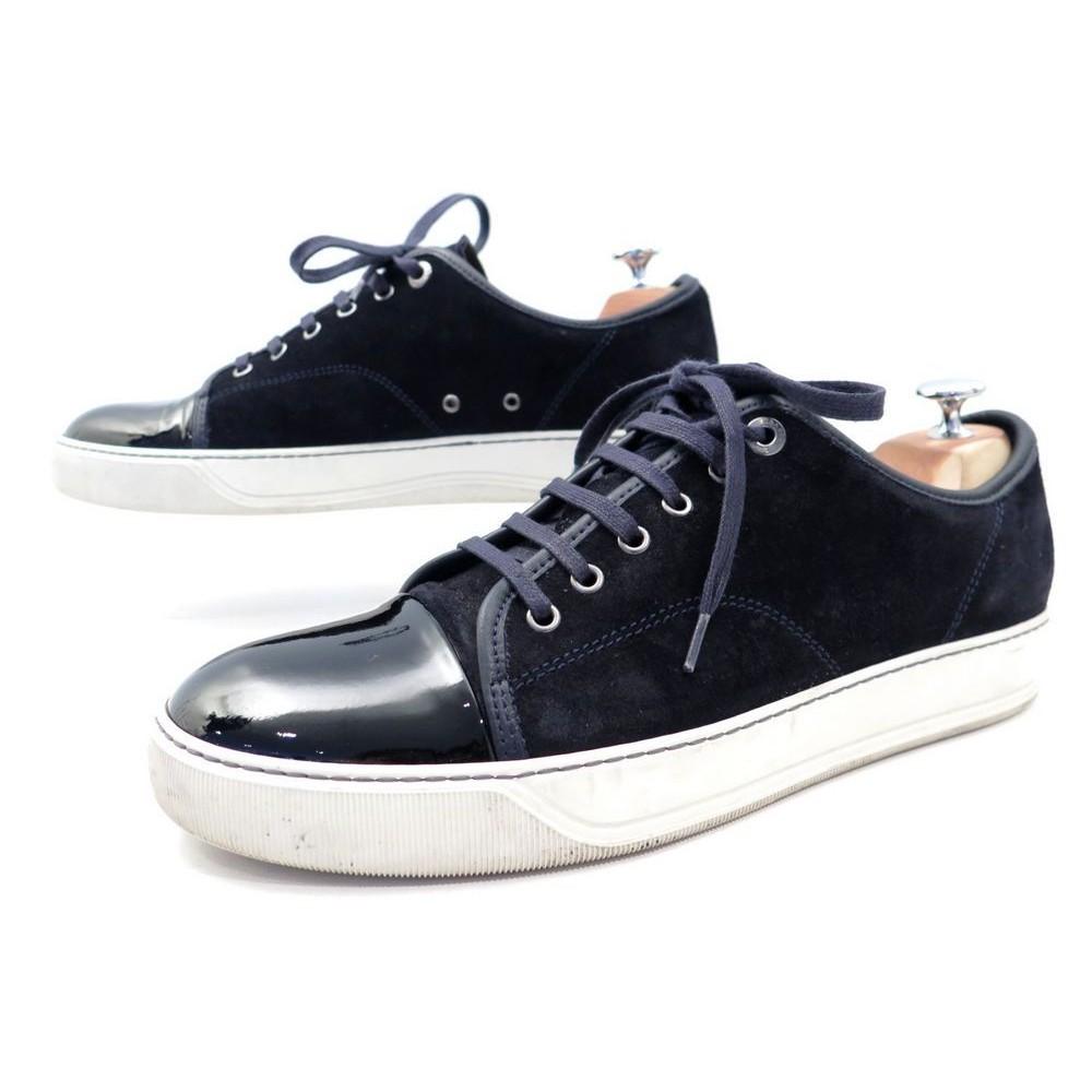 f4e10ab571 chaussures lanvin dbb1 8 it 43 fr basket veau velours