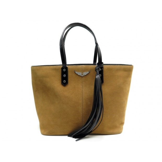 SAC ZADIG VOLTAIRE MICK CUIR ROSE + PORTEFEUILLE