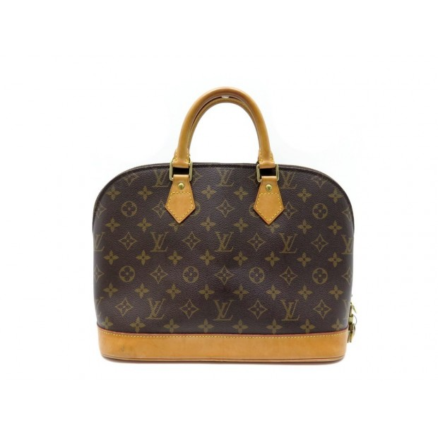 AAM1808 12 Louis Vuitton Alma PM Brown Monogram Canvas
