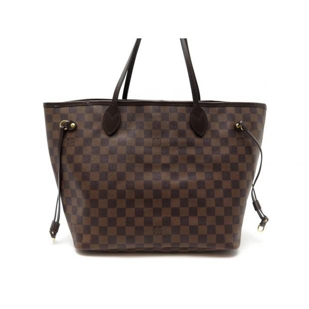 SAC A MAIN Louis Vuitton NEVERFULL DAMIER EBENE 1040€