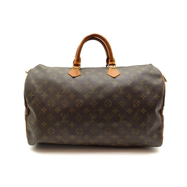 AAM1766 279B Louis Vuitton Speedy 40 Brown Monogram Canvas