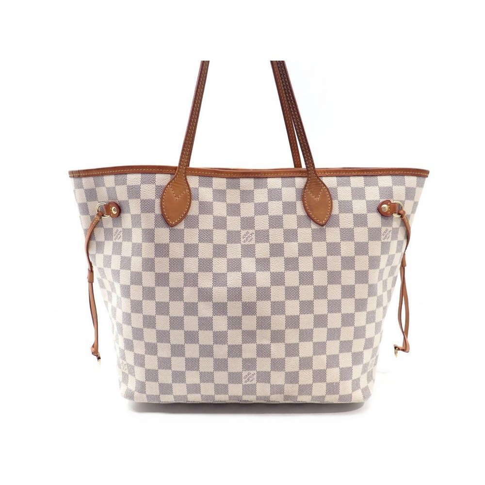 SAC A MAIN LOUIS VUITTON NEVERFULL MM TOILE DAMIER AZUR CABAS TOTE HAND BAG  945€. Loading zoom 39940c679b272