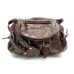 SAC JEROM DREYFUSS BILLY CUIR PYTHON