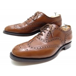 CHAUSSURES CHURCHS BURWOOD 10.5F 44.5 CUIR MARRON